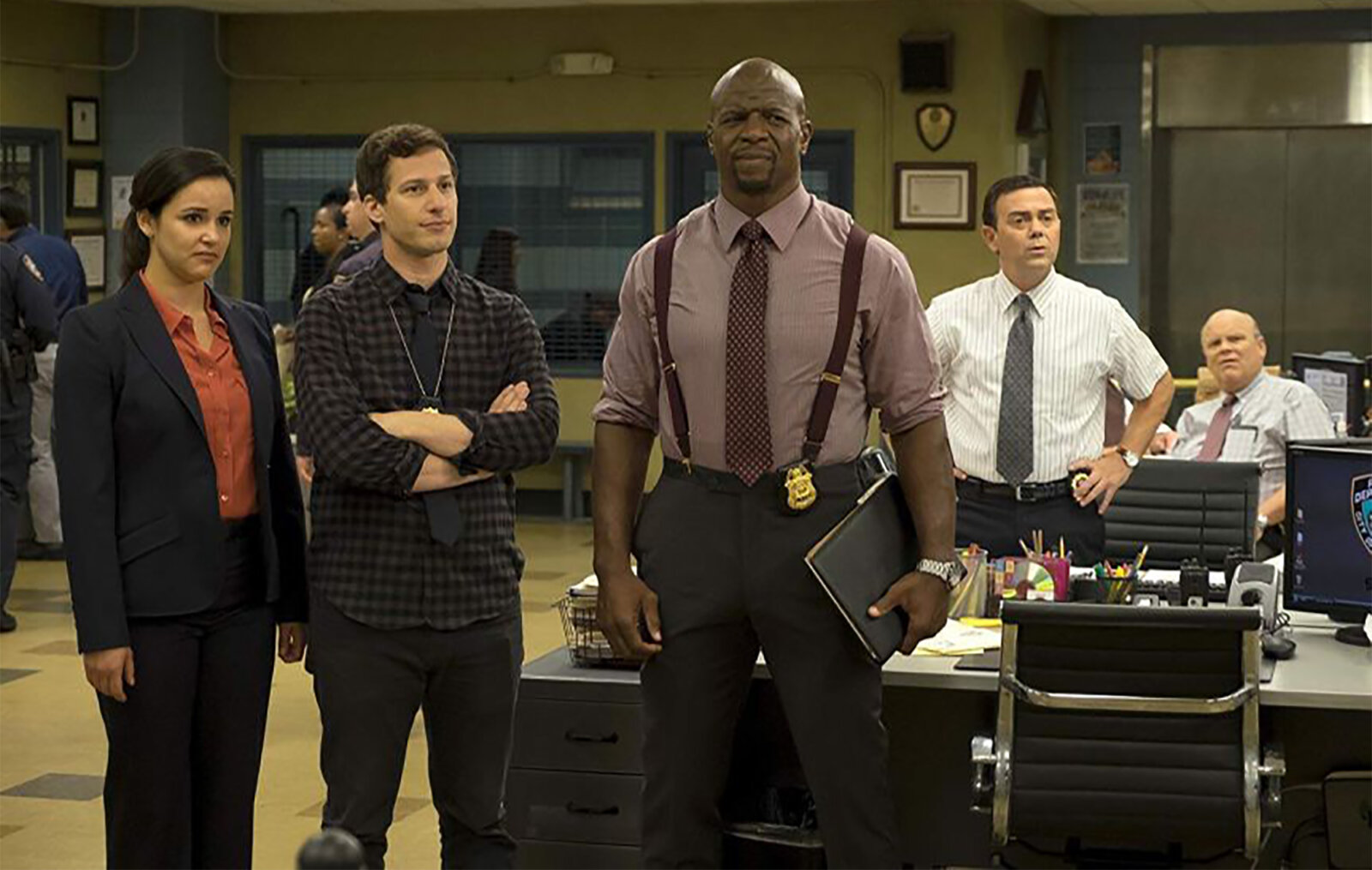 """Brooklyn 99 to """"start over"""" and rewrite episodes in light of the anti-racism protests, The Manc"""