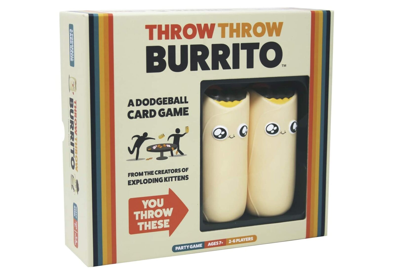 This 'burrito dodgeball' card game could be the most brutal lockdown activity yet, The Manc