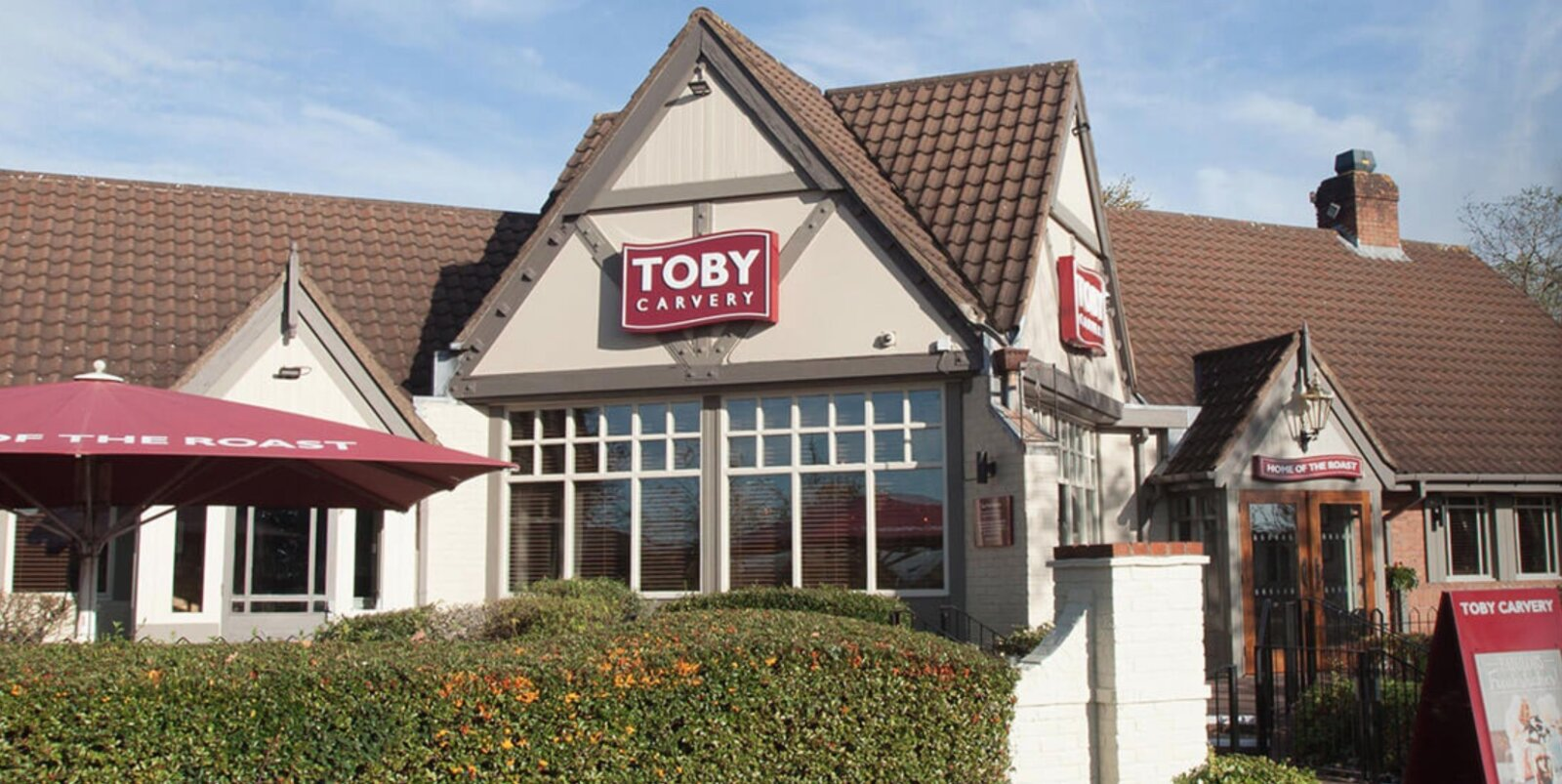 You won't be able to serve yourself a roast at Toby Carvery once it reopens this week, The Manc
