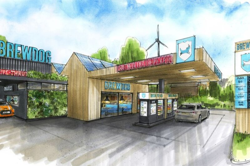 BrewDog to open the UK's first beer drive-thru, The Manc