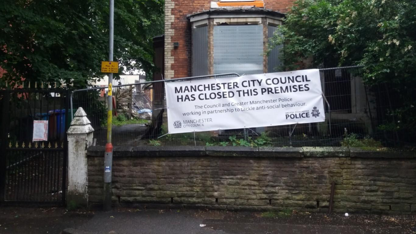 'Nightmare' house in Crumpsall closed by council following alleged criminal behaviour, The Manc
