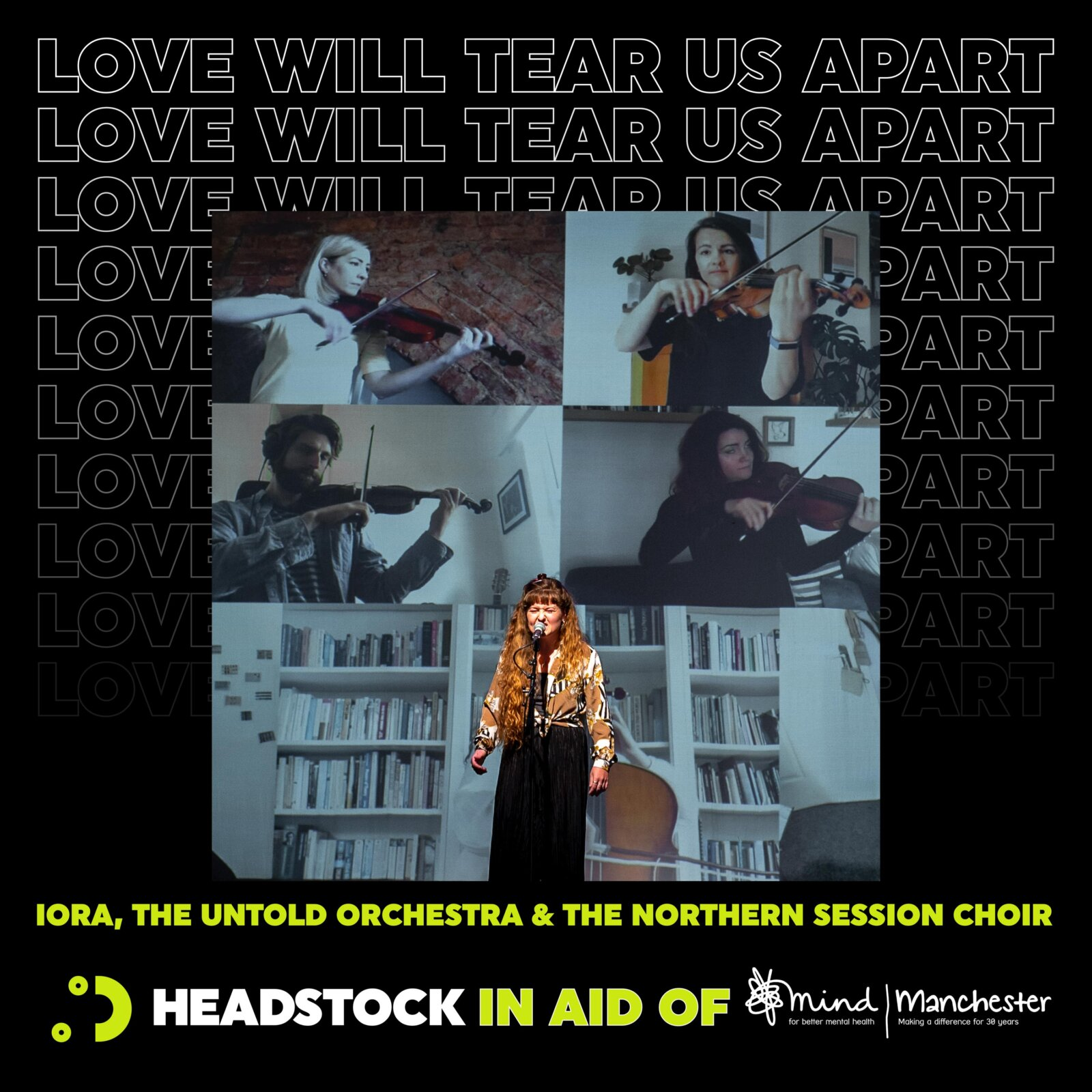 Headstock release cover of Joy Division's 'Love Will Tear Us Apart' to mark Ian Curtis' 64th birthday, The Manc