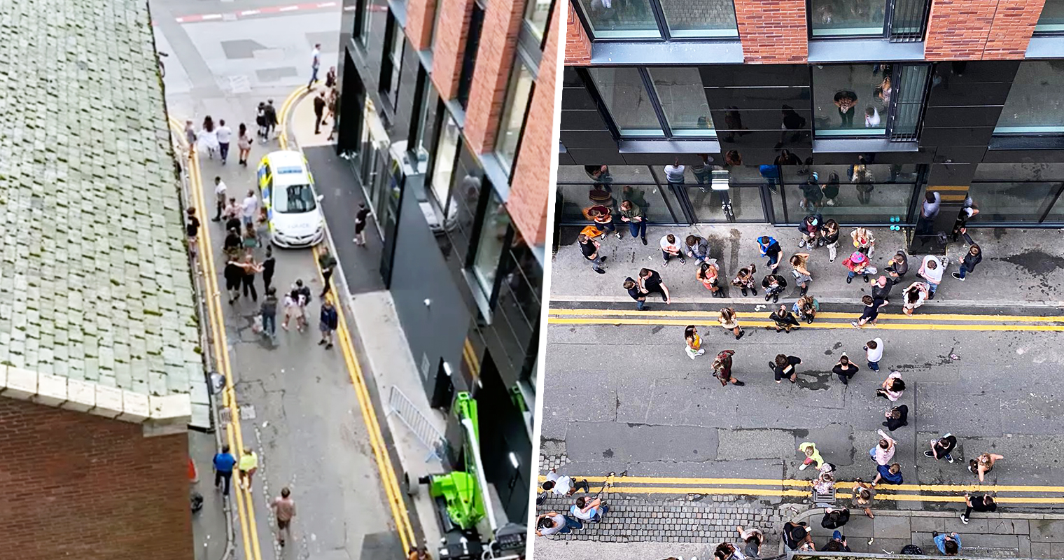 Police officers bust 'packed illegal rave' in Northern Quarter hotel room, The Manc