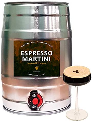 You can now order a five-litre keg of espresso martini, The Manc