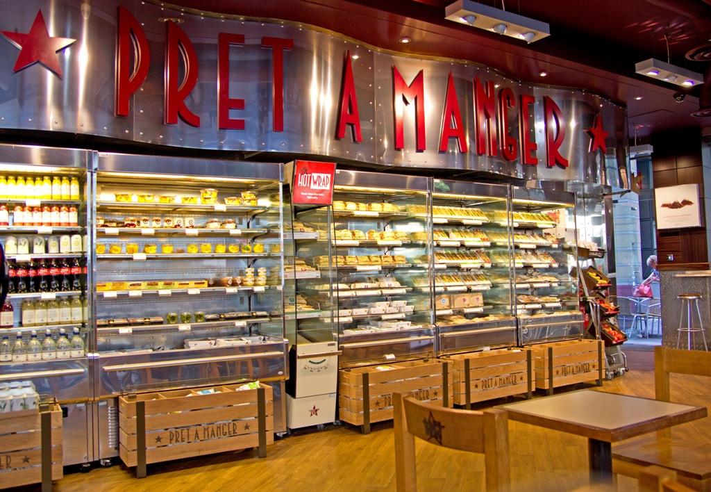 Pret a Manger says it's in trouble and 'around 1,000 jobs are at risk', The Manc
