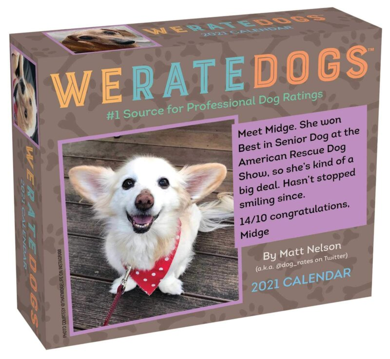The WeRateDogs 2021 calendar is already the best thing to happen to next year, The Manc