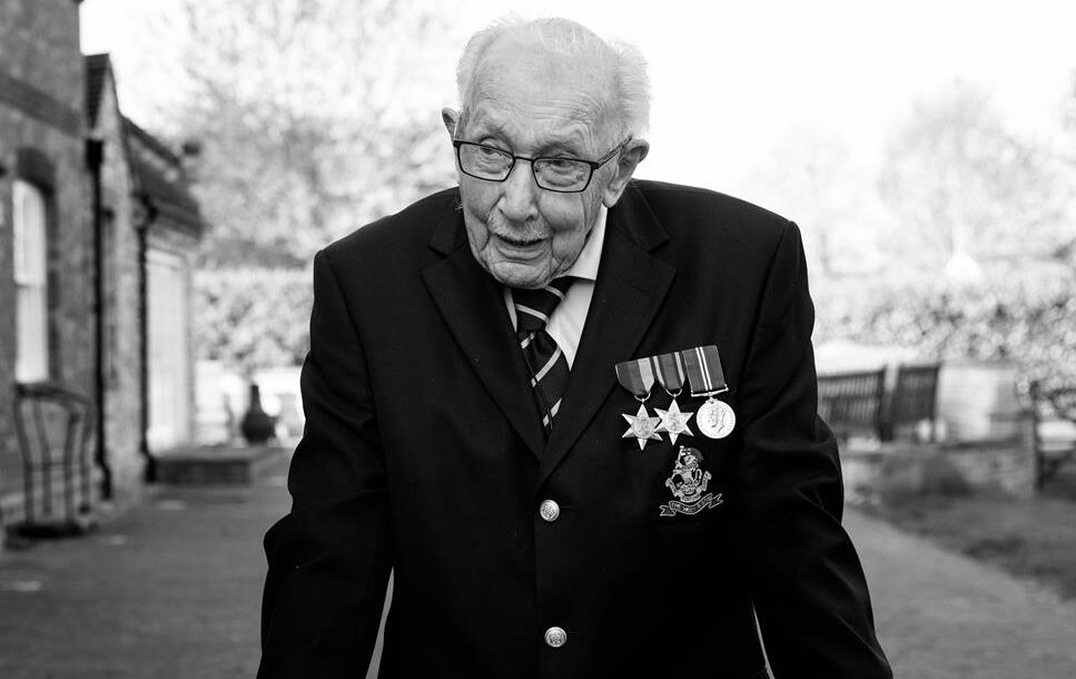 Captain Sir Tom Moore has died aged 100, The Manc