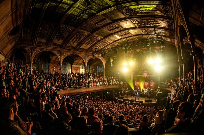 Albert Hall is returning for a one-off Musik Halle event with bands, DJs, bratwursts and kebabs, The Manc