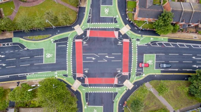 Brand new 'CYCLOPS' cycle junction opens in Hulme, The Manc