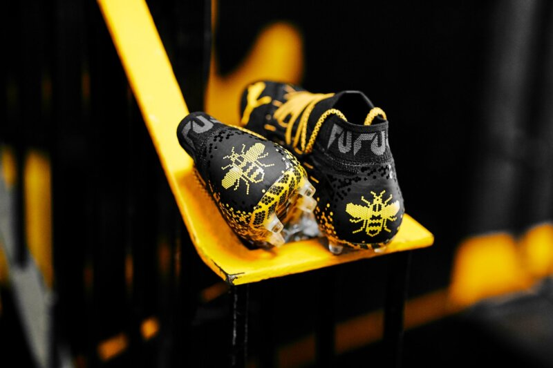 Puma and Man Utd star Brandon Williams unveil Worker Bee inspired boots, The Manc