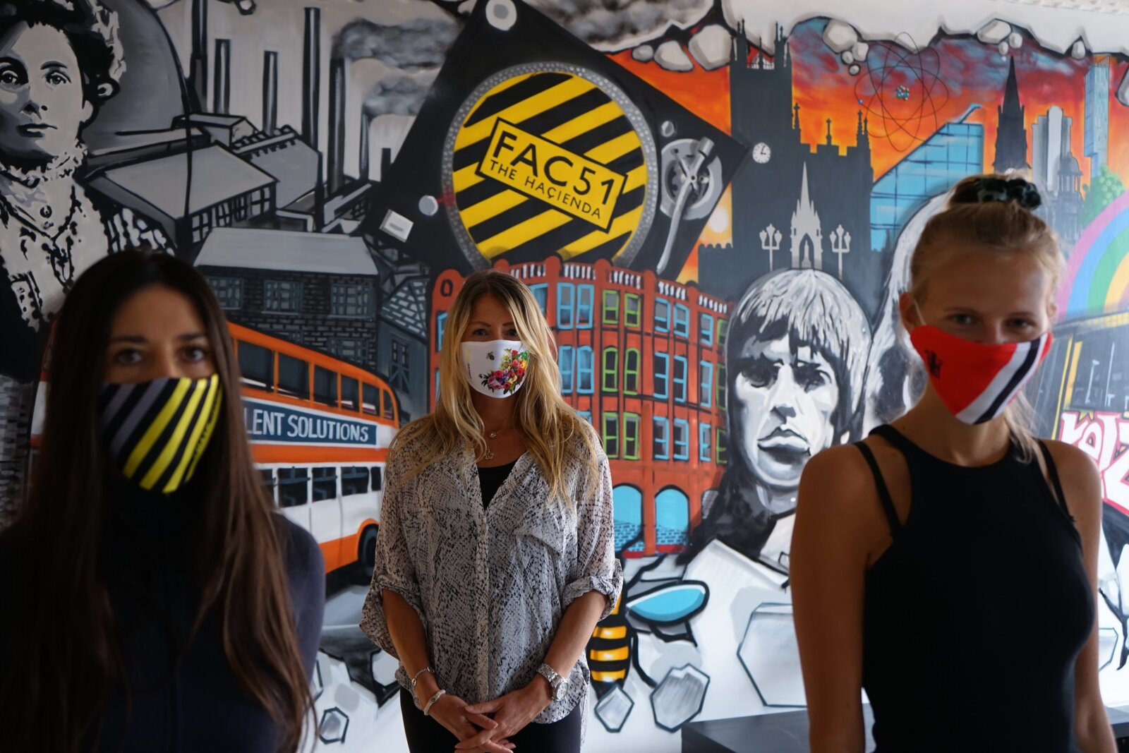 This local artist is selling Manchester-themed face masks to raise money for charity, The Manc