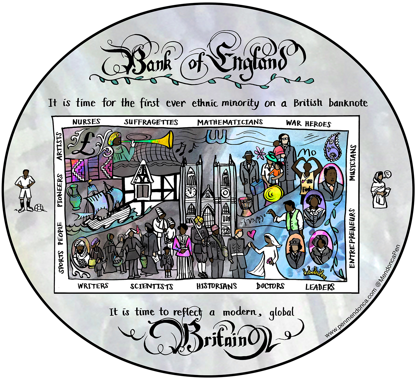 Black and Minority Ethnic figures to feature on British coins for first time, The Manc