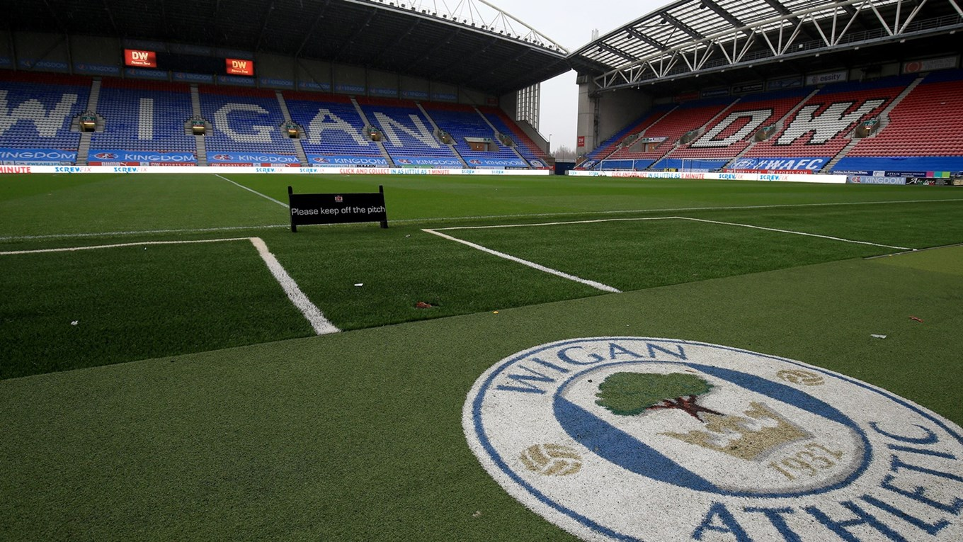 Wigan Athletic has announced it has gone into administration, The Manc