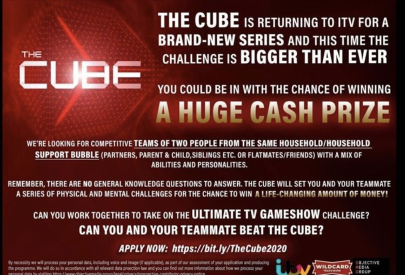 The Cube is returning to TV screens – and you could take part in the new series, The Manc