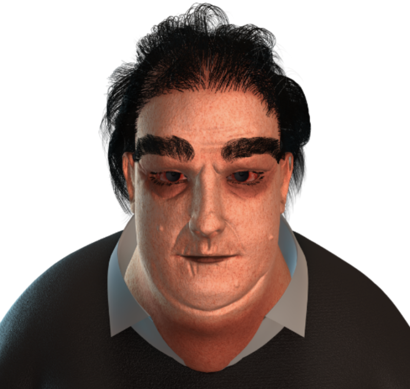 Disturbing model shows what home workers could look like in 2045, The Manc