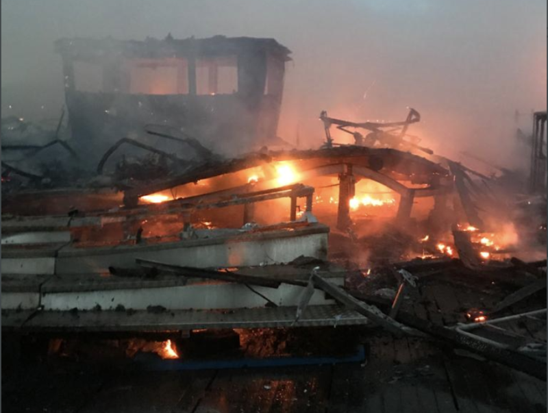 Photos show devastating damage caused to Blackpool Pier following fire, The Manc