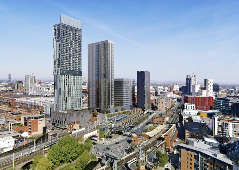 Huge demand expected for 'Viadux' – Beetham Tower's handsome new neighbour, The Manc