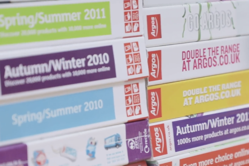 Argos to stop printing its catalogue after nearly 50 years, The Manc