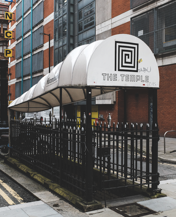 Temple Bar: The public toilet that became a drinking den for Manchester's musicians, The Manc