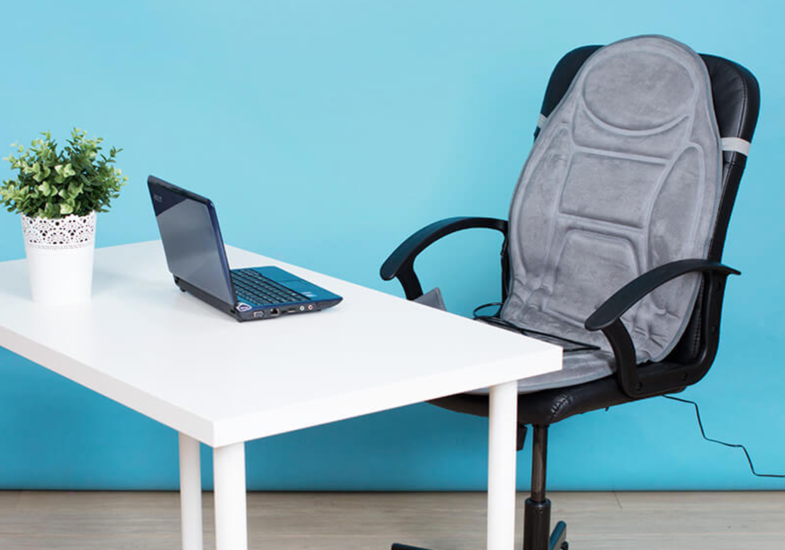 This heated seat massager will soothe away any work from home aches and pains, The Manc