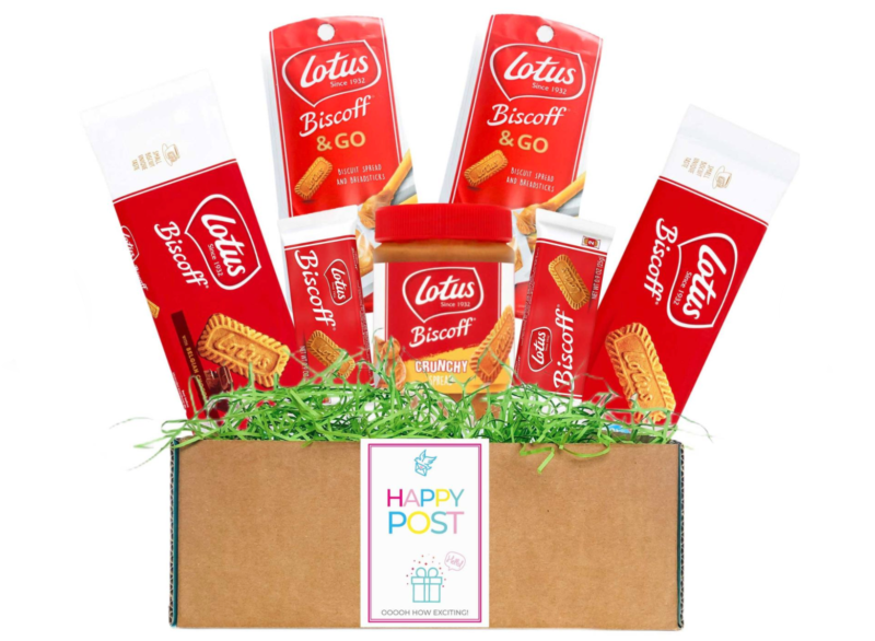You can get a Lotus Biscoff hamper delivered right to your door, The Manc