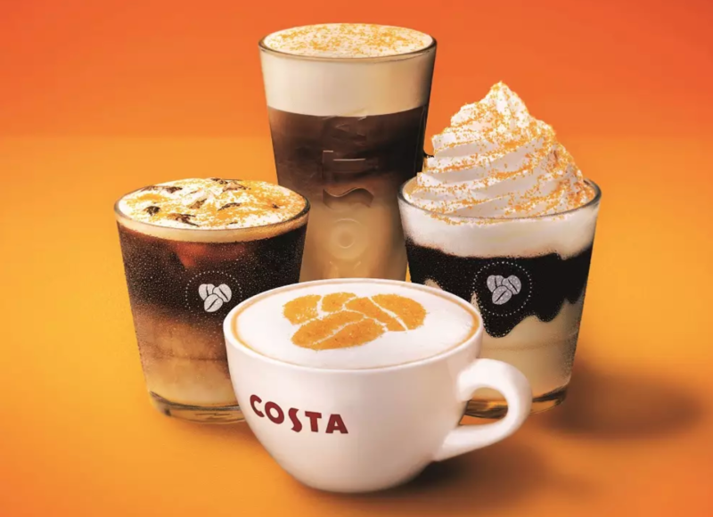 Costa adds new summer range of honeycomb drinks to its menu, The Manc