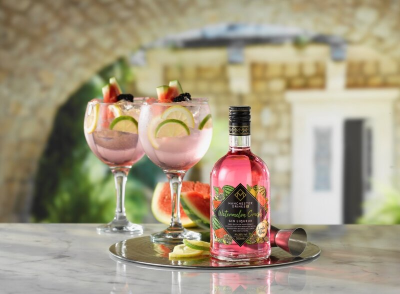 Manchester Drinks launches new Watermelon Gin Liqueur and it's on shelves at Home Bargains now, The Manc