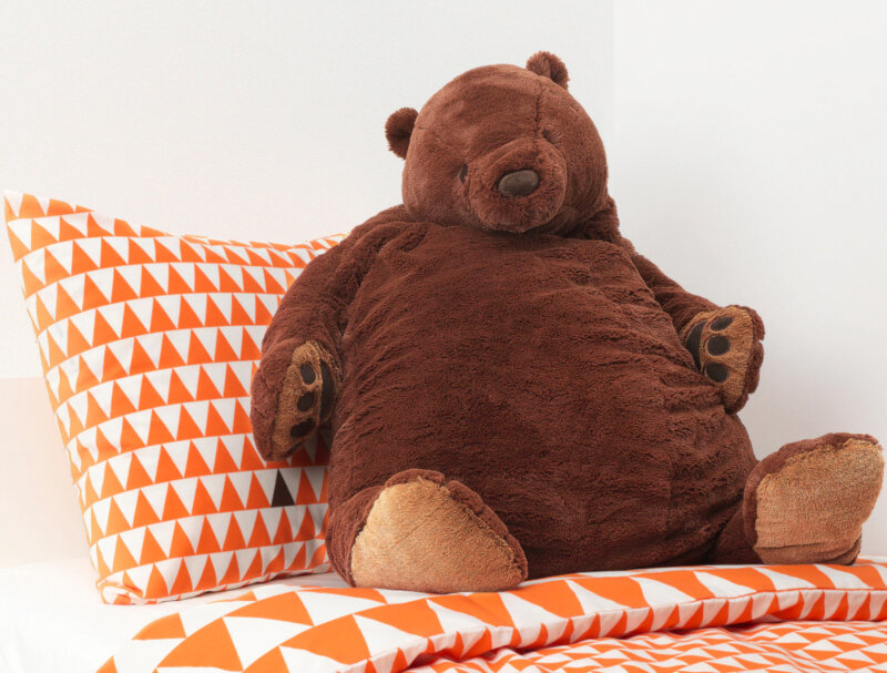 IKEA is selling a huge 'djungelskog' teddy bear for only £25, The Manc