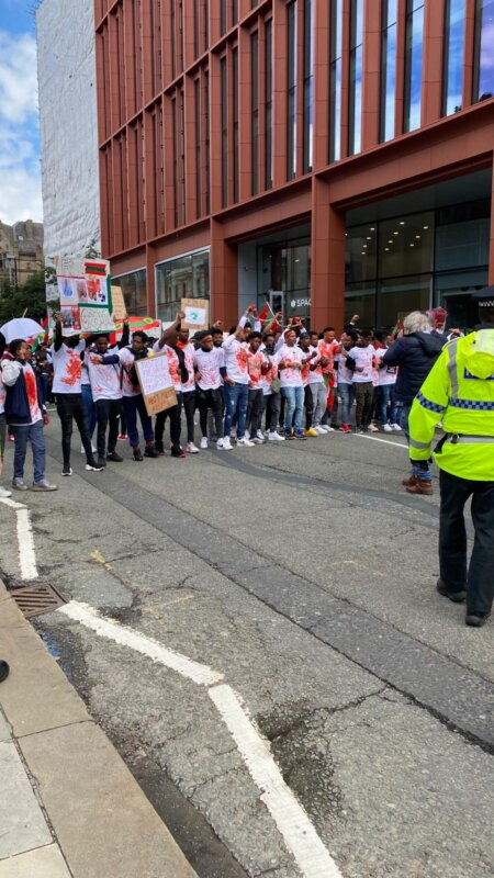 Why Deansgate was just shut down by an army of passionate protesters, The Manc