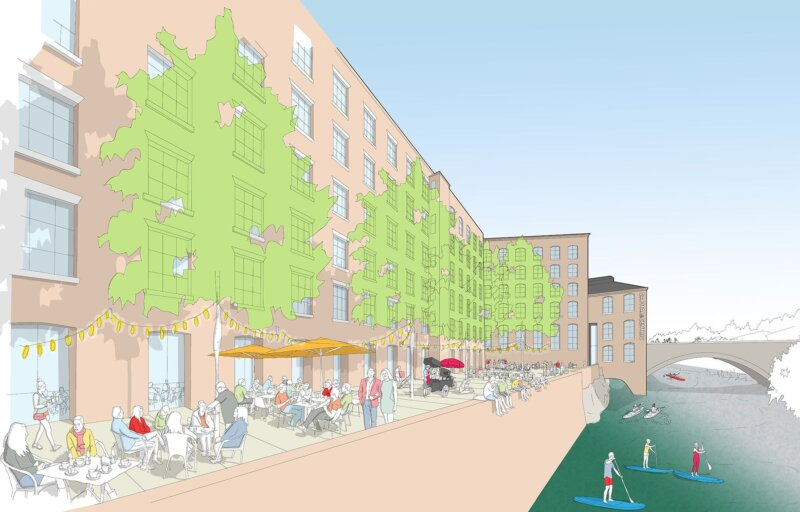 Stockport asked to 'join the conversation' as CAPITAL&CENTRIC launches consultation on iconic Weir Mill, The Manc