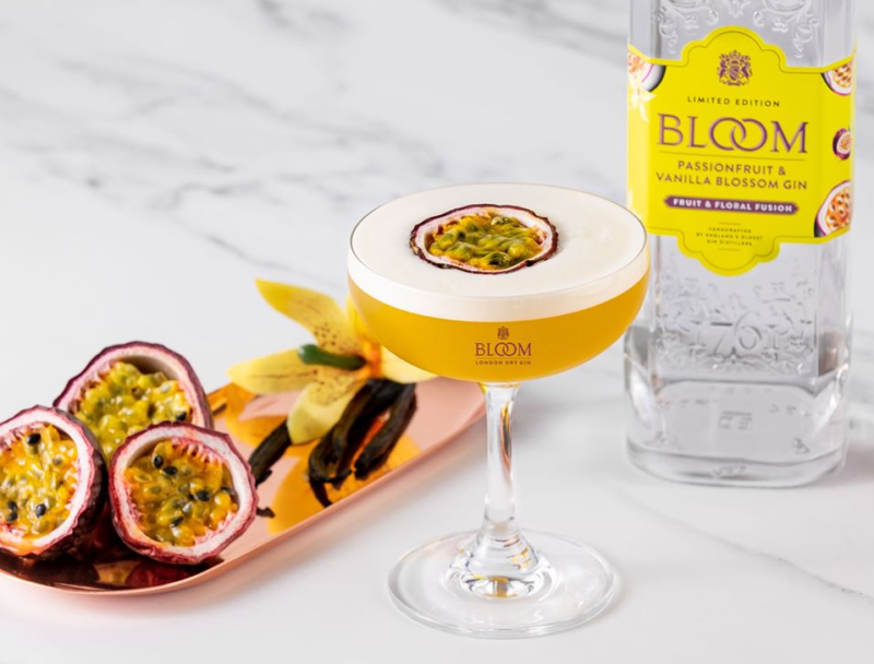 You can now get passionfruit and vanilla flavoured BLOOM gin, The Manc