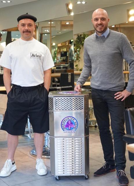 Manchester hairdressers becomes first UK salon to install coronavirus-killing tech, The Manc