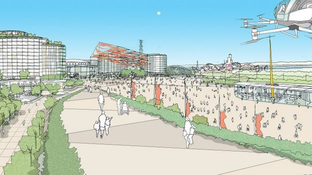 New plans unveiled for 'UK Disneyland' and the public are being asked for their views, The Manc