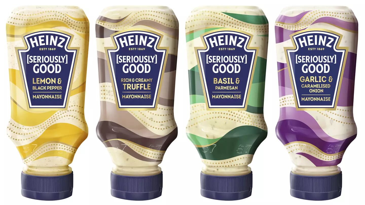 Heinz new range of flavoured mayo now available in UK supermarkets, The Manc