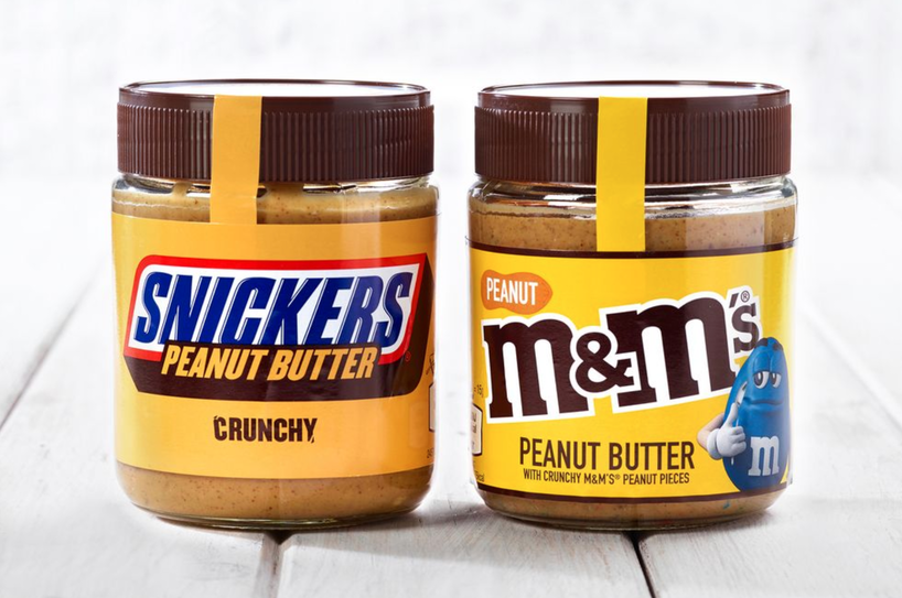 B&M is selling jars of M&M and Snickers peanut butter, The Manc