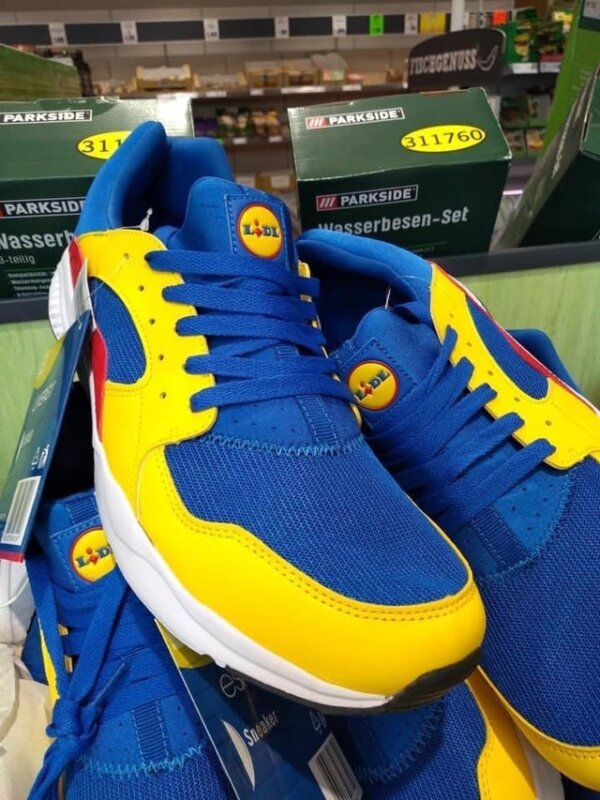 Lidl's new £14 trainers are now being listed for over £5000 online, The Manc