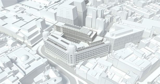 Large-scale redevelopment plans for Manchester's Debenhams building revealed, The Manc
