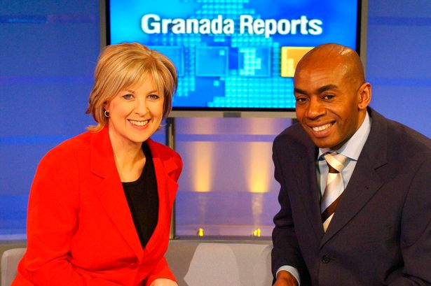 A private funeral for Granada Reports presenter Tony Morris is being held today, The Manc