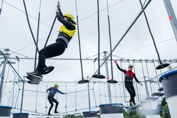 A new floating obstacle course has just opened up and it's only 40 minutes from Manchester, The Manc