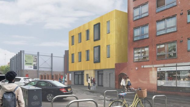 Building work begins on Manchester's new £2.5m LGBT+ community centre, The Manc