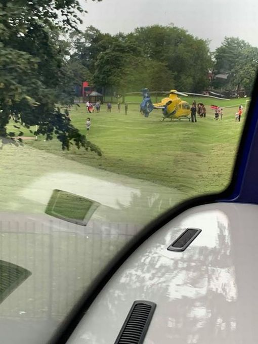 Air ambulance and cordon shuts down Wilmslow Road due to 'police incident', The Manc