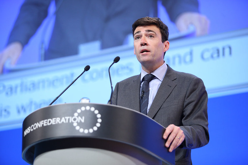 Andy Burnham tweets latest R rate data showing North West at 1.1, The Manc