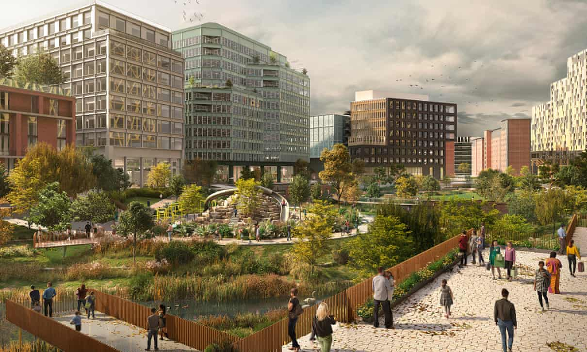 First city centre park in 100 years to be built in Manchester, The Manc
