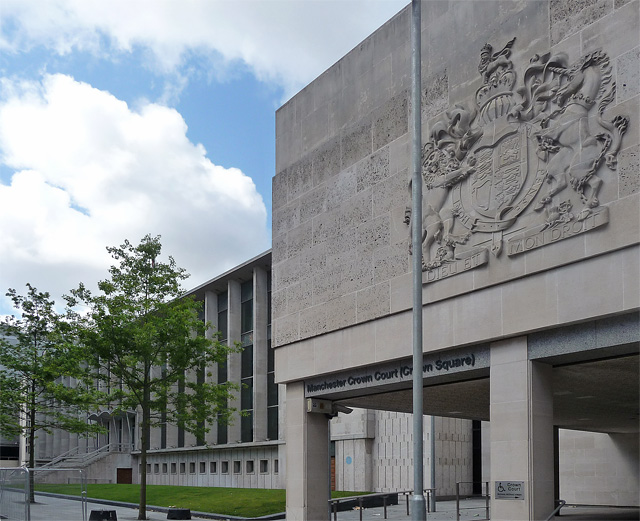 Manchester Crown Court closed for cleaning due to suspected coronavirus outbreak, The Manc