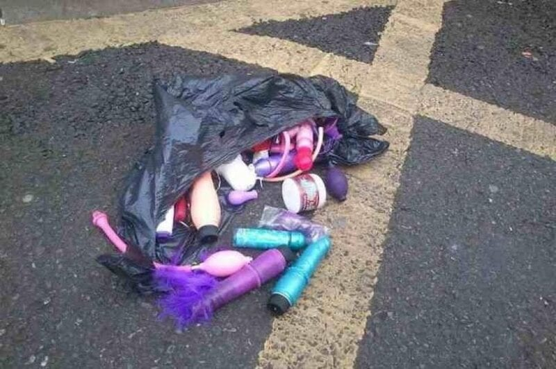 Bewildered shopper finds bag filled with adult toys abandoned at Prestwich store, The Manc