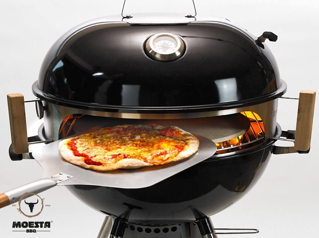 This cooking set lets you turn your kettle grill into a pizza oven, The Manc