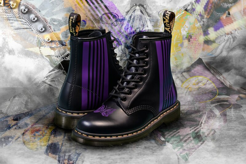 Dr Martens – the definitive shoe of the Manc music scene – is launching a new collaboration with Needles, The Manc