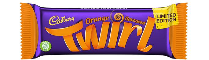 Cadbury's new orange range has Giant Buttons, Fingers and the return of the Orange Twirl, The Manc