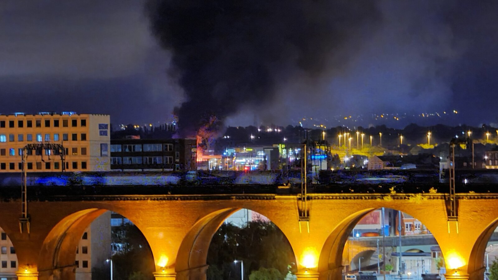 Greater Manchester Police treating fire at car dealership in Stockport as arson, The Manc