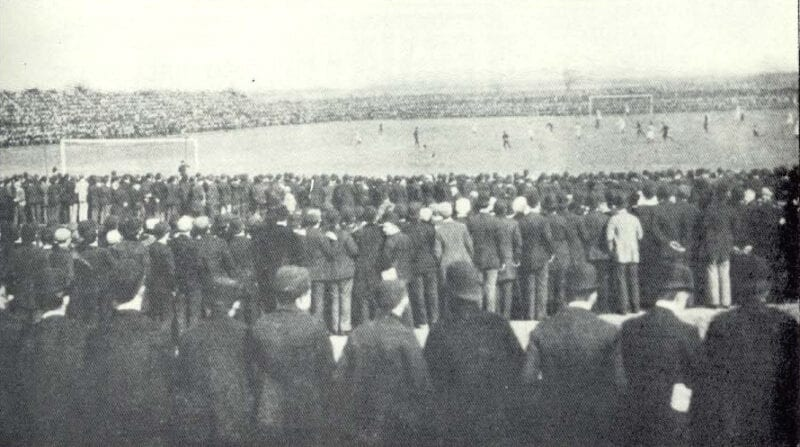 The FA Cup Final was once played at Fallowfield Stadium – and it was chaos, The Manc